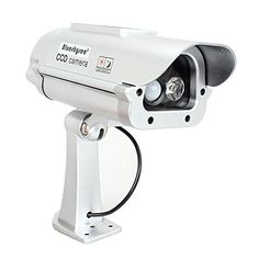 Solar Powered Cctv Security Fake Dummy Camera Cam with Flash Lightshuman Sensor Review https://wirelesssecuritycamerasusa.info/solar-powered-cctv-security-fake-dummy-camera-cam-with-flash-lightshuman-sensor-review/