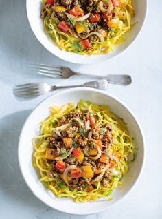 Curried Cabbage Noodles with Sautéed Beef Clean Recipes, Beef Recipes, Cooking Recipes, Healthy Recipes, Diabetic Recipes, Healthy Eats, Delicious Recipes, Cabbage And Noodles, Beef And Noodles