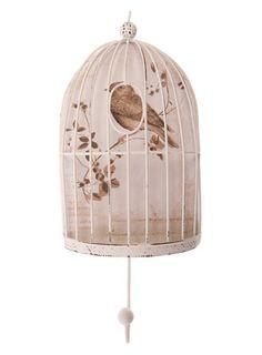 Sass & Belle Bird Cage Hook - decorative accessories  - Home, Lighting & Furniture