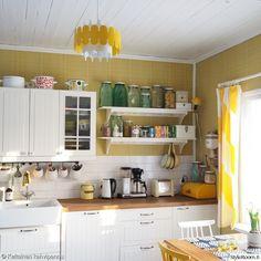 keittiö,retrotyyli,hylly,retro,avohylly