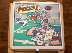 Scott Wiener's giant collection of pizza delivery boxes includes a reusable container that can be returned for cleaning and a box that turns into a set of disposable plates. Perfect Pizza, Good Pizza, Pizza Box Design, Pizzeria Design, Pizza Art, Pizza Boxes, Disposable Plates, Pizza Delivery, Art Images