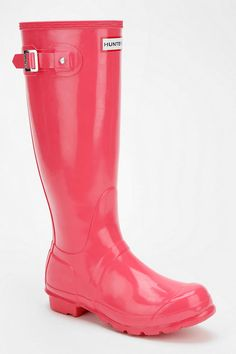 Hunter Original Gloss Rain Boot. Need.