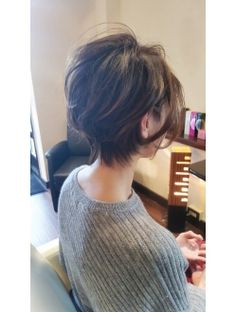 Pin on メイク Pin on メイク Messy Haircut, Pixie Haircut For Thick Hair, Short Hair Cuts, Short Hair Styles, Tomboy Hairstyles, Short Bob Hairstyles, Cabello Hair, Shirt Hair, Hair Brained