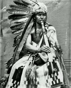Black Eagle. A Nez Perce man. 1900.