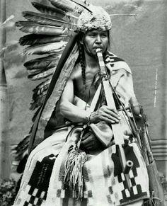 Black Eagle. A Nez Perce man. 1900.