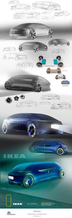 Autonomous Ikea vehicle concept