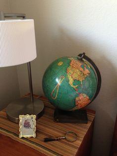 10 inch Replogle Library Globe - lighted.
