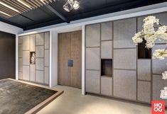 DecoLegno - Decorspaanplaten in kantoorpand - Hoog ■ Exclusieve woon- en tuin inspiratie.