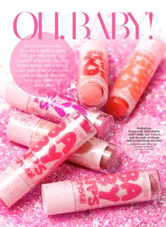 Maybelline Baby Lips Crystal Lip Balm Collection