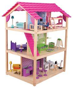 Kidkraft casa de mu ecas 65822 vida moderna casitas - Casa munecas eurekakids ...