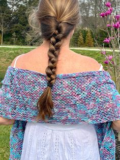 Spring Succulents Shawl Crochet PATTERN Crochet Shawl | Etsy