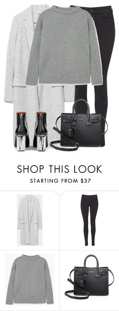 """""""Untitled #2925"""" by elenaday on Polyvore featuring Maison Scotch, MANGO, Yves Saint Laurent and Acne Studios"""