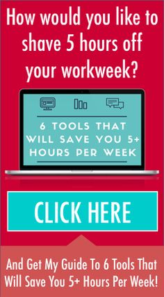 6 Tools That Will Save You 5+ Hours Per Week In Your Wedding Business - http://www.evolveyourweddingbusiness.com/6tools