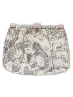 JUDITH LEIBER VINTAGE Embroidered Shoulder Bag