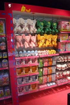 A fantastic collection of Pink Chillies Elephants at Whinefell, Centre Parcs.... spoilt for choice!
