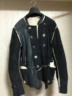 Takahiro Miyashita The Soloist Leather Jacket Number Nine