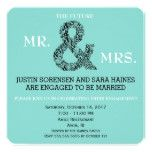Mr And Mrs To Be Engagement Party Invitation #weddinginspiration #wedding #weddinginvitions #weddingideas #bride