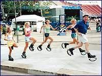 Kangoo Jumps.  Get them on Fitadelphia.com and get a discount.  Also supports childhood obesity research.    http://fitadelphia.com/philadelphia/kan-ps/