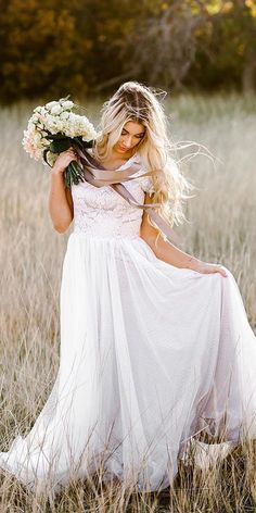 a line wedding dresses with cap sleeves lace top tulle skirt romantic elizabeth cooper A Line Bridal Gowns, Bridal Dresses, Wedding Gowns, Popular Wedding Dresses, Wedding Dress Styles, Backyard Wedding Dresses, Wedding Dress Silhouette, Ball Gowns, Cap Sleeves