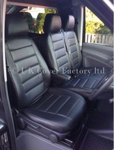 Mercedes Sprinter Recovery Truck Single Heavy Duty Driver Captain Seat Cover Waterproof GREY