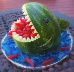 great animals fruits