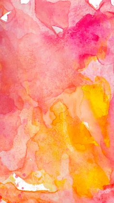 Pink and Orange Abstract Watercolor Painting Art Print by Color Snack: Watercolor & Lettering - X-Small Cute Backgrounds, Cute Wallpapers, Wallpaper Backgrounds, Iphone Wallpaper, Watercolor Wallpaper Iphone, Wallpaper Quotes, Watercolor Background, Abstract Watercolor, Watercolor Paintings