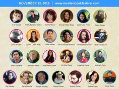 2016 MBF Author Lineup! #mbf2016