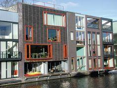 Design coding in Amsterdam- Borneo and Sporenburg Amsterdam Architecture, Borneo, Cladding, Multi Story Building, Urban, House, Design, Home