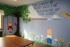 pinterest decorating sunday school rooms | Decorating a children's/or Sunday School Room using stamps/digital ...