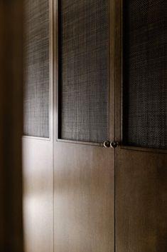 Wardrobe Door Designs, Wardrobe Doors, Closet Doors, Interior Architecture, Interior And Exterior, Interior Design, Joinery Details, Cabinet Door Styles, Celebrity Houses