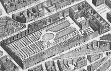 After the marriage of Philippe I d'Orleans, Monsieur to Henriette-Anne of England in 1661, the Palais-Royal in Paris became the primary residence for the House of Orleans until the French Revolution. Monsieur planned extravagant entertainments at the Palais-Royal that became renowned throughout France, especially after Madame de Maintenon forbade lavish entertaining at Versailles.