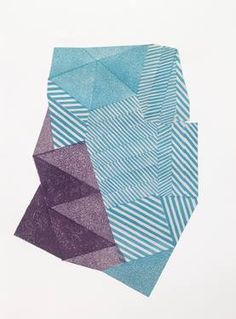"""Untitled I,"" original abstract print by artist Paulina Rypakova (Slovakia) available at Saatchi Art #SaatchiArt"