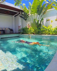 Just floating away in my private villas own pool at The Samaya - a luxury beachfront resort in Seminyak, bali, Indonesia.