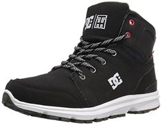 DC Mens Torstein Skate Shoe BlackWhite 75 M US >>> Details can be found by clicking on the image.