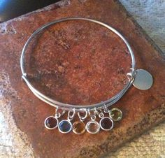 Alex and ani Inspired Channel Drop Crystals by GrecoGirlJewelry, $15.50