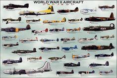 WWII aircraft. This supplements by historical aircraft lessons. #Technology of Flight