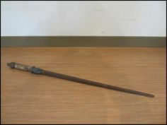 Rare Japanese Antique  Bugu JITTE JUTTE Sword Iron Weapon Samurai Ninja 82 cm