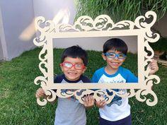 photo booth frame por craftszigzag en Etsy