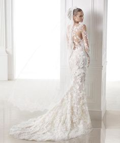 Pronovias Capricornio Wedding Dress. Pronovias Capricornio Wedding Dress on Tradesy Weddings (formerly Recycled Bride), the world's largest wedding marketplace. Price $6500.00...Could You Get it For Less? Click Now to Find Out!