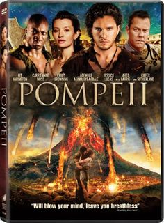 Pompeii - The movie showed the cultures of the time, politics, and the city itself really well. They even showed how messed up the ruler of Rome was during that time as well as those who servered under him. The graphics were good ninus the whole horse chace in the middle of a volcano. 8/24/14