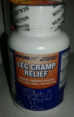 Magnilife Leg Cramp Relief 125 tablets New Sealed Bottle legs calves feet & toes #MagniCo #legcramprelief #legcramp #recovery can be found in ThenAndAgainTreasures #ebay store