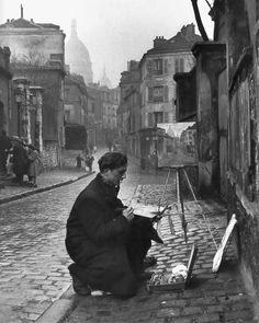 Montmartre 1946  Photo: Edward Clark