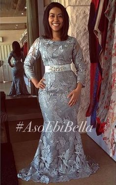Beautiful Divas Slaying Aso Ebi in A Million Styles – A Million Styles Best African Dresses, African Lace Styles, African Inspired Fashion, Latest African Fashion Dresses, African Print Fashion, African Attire, African Outfits, African Fashion Traditional, Lace Gown Styles