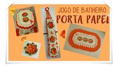 JOGO DE BANHEIRO- PORTA PAPEL