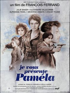 "Theatrical poster for the fictional film ""Je vous présente Pamela"", of which the classic Truffaut film ""La nuit américaine (Day for night)"" tells the stoty of the shooting © Philippe Desfretier 2013"