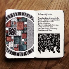 Moleskine // I love this particular type of designs or sketches. That look so professional and neat. Journal D'art, Art Journal Pages, Art Journals, Nature Journal, Bullet Journal, Kunstjournal Inspiration, Sketchbook Inspiration, Art Sketches, Art Drawings