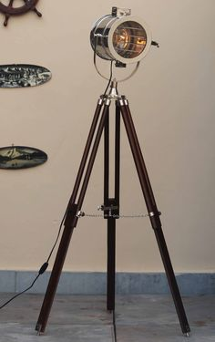Tripod Floor Theatre Lamp 142cm – Black Mango | Floor Lamps ...
