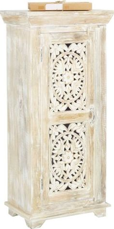 Diese Hübsche Kommode Ist Ein Individueller Blickfang Mit Charme Für Ihr  Zuhause. Dekorative Schnitzereien Im Vintage Stil Und Eine Oberfläche Im  Antiken ...