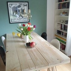 DIY-Projekt : Tisch aus Baudielen