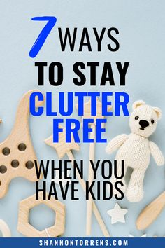 Decluttering Tips When You Have Kids Declutter Your Mind, Organize Your Life, Minimal Living, Simple Living, Declutter Bedroom, Minimalist Kids, Kids Checklist, Get My Life Together, Clutter Free Home